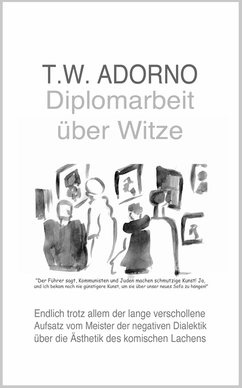 Adorno Thesis on Humor Cover 2